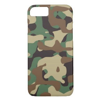 Waldmuster-Camouflage iPhone 7 Fall Abdeckung iPhone 8/7 Hülle