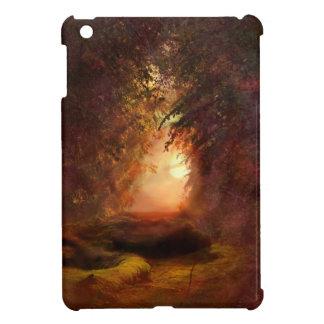 Waldsonnenuntergang iPad Mini Hülle