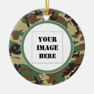 Waldtarnungs-kundenspezifische Foto-Verzierung Keramik Ornament