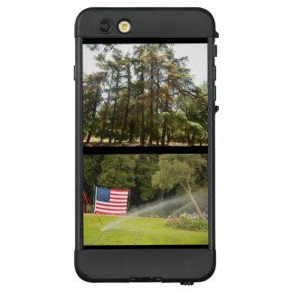 Waldung der Bäume und Flagge bei tausend aks LifeProof NÜÜD iPhone 6 Plus Hülle