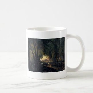 Waldweg nahe Spandau 1835 durch Karl Blechen Kaffeetasse