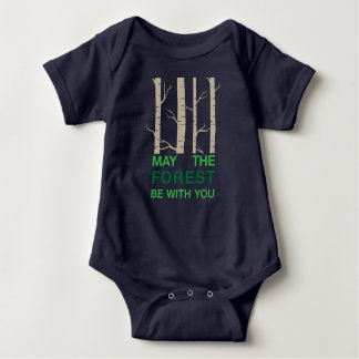 Waldwortspiel Baby Strampler