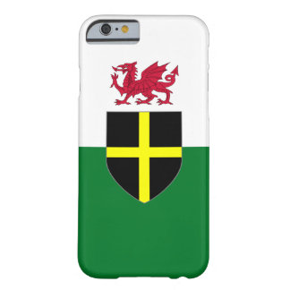 Wales iPhone Fall - Kreuz u. Drache Barely There iPhone 6 Hülle