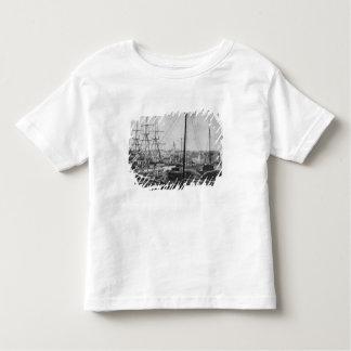 Walfang-Hafen, New-Bedford Kleinkinder T-shirt