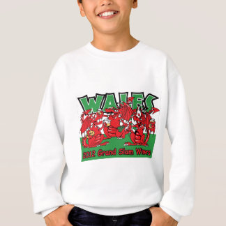 Waliser-Drache, Grand Slam-Sieger 2012 Sweatshirt