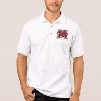 Waliser-Drache-Polo-Shirt Polo Shirt