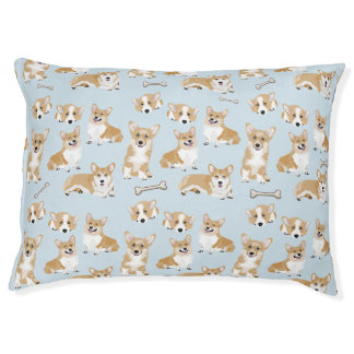 WaliserCorgipembroke-Hundewelpen-Muster Haustierbett