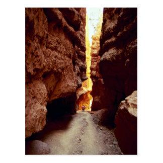 Wall Street, Bryce Nationalpark, Utah-Felsenformat Postkarte