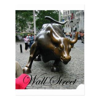 Wall Street Postkarte