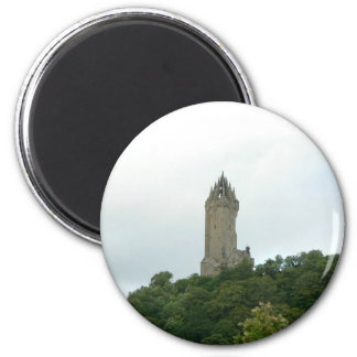 Wallace-Monument Runder Magnet 5,7 Cm