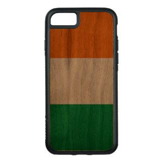 Walnuss iPhone 7 Stoßdämpfer-Kasten mit Carved iPhone 8/7 Hülle