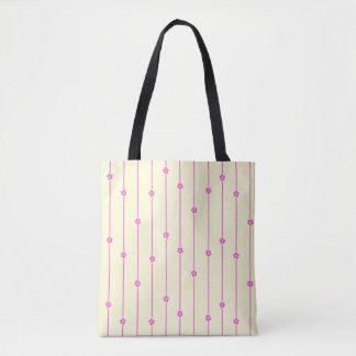 Wand-Blumen-ganz vorbei - Druck-Tasche Tasche