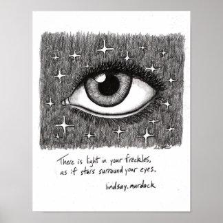 Wand-Kunst-Plakat-inspirierend Zitate Poster