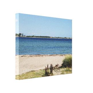 Wandbild Strand und Meer Leinwanddruck
