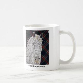 Wanderer-Pferdegewohnheitscollage Tasse