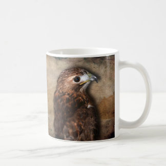 Wanderfalke-Profil Kaffeetasse