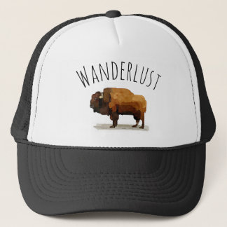 WANDERLUST Fernlastfahrer-Hut: Amerikanischer Truckerkappe