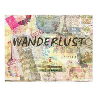 Wanderlust Postkarte