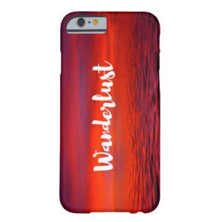 Wanderlust-Telefon-Kasten Barely There iPhone 6 Hülle