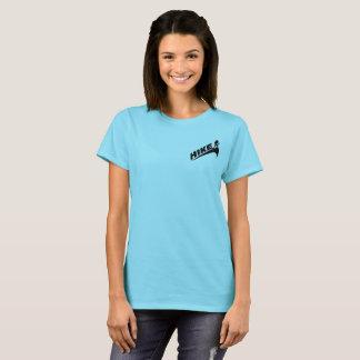 """""""Wanderungs""""/""""Mädchen auf Spuren nicht stuft"""" das T-Shirt"""