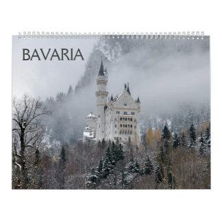 Wandkalender des Bayern-2018