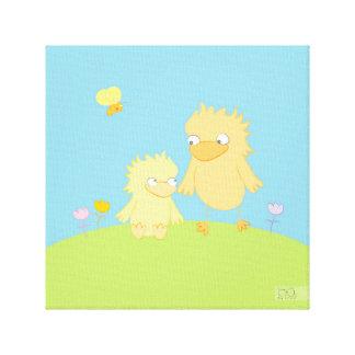 Wandkunst - Raumdekor für Kinder Leinwanddruck
