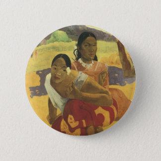 Wann heiraten Sie? durch Paul Gauguin Vintage Runder Button 5,1 Cm