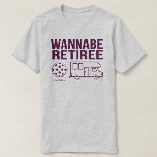 """""""Wannabe-Rentner"""" Pickleball T - Shirt"""