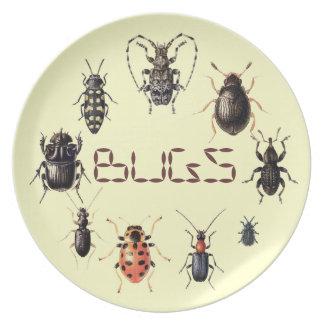Wanzen überziehen für Insektenfans Essteller