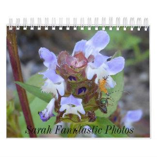 Wanzen-und Blumen-Kalender Wandkalender