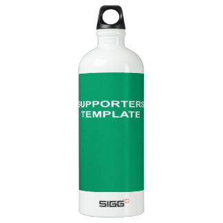 Wappen Aluminiumwasserflaschen