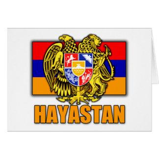 Wappen Armeniens Hayastan Karte