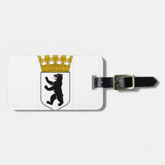 Wappen Berlins (Deutschland) Kofferanhänger