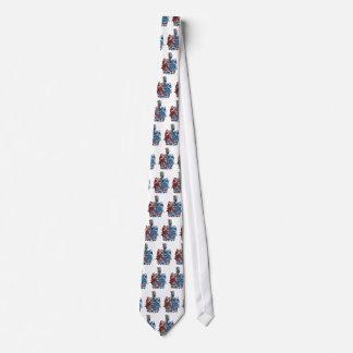 Wappen der Ludwig von Mises-Familie Bedruckte Krawatten