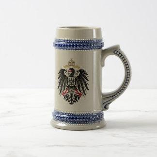 Wappen Deutsches Reich 1889 Reichsadler Bierkrug