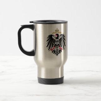 Wappen Deutsches Reich 1889 Reichsadler Edelstahl Thermotasse