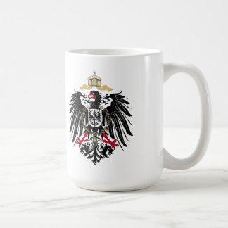 Wappen Deutsches Reich 1889 Reichsadler Kaffeetasse