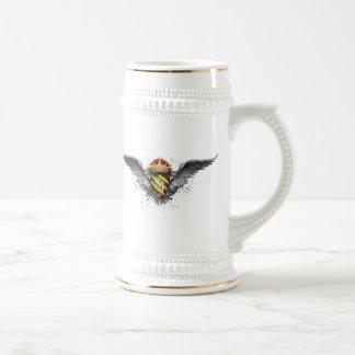 Wappen-Emblem *Personalized* durch Bierglas