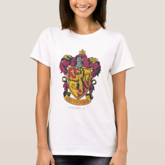 Wappen-Gold und Rot Harry Potter | Gryffindor T-Shirt