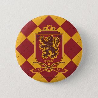 Wappen Harry Potter | Gryffindor QUIDDITCH™ Runder Button 5,7 Cm
