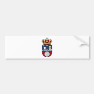 Wappen Kantabriens (Spanien) Autoaufkleber