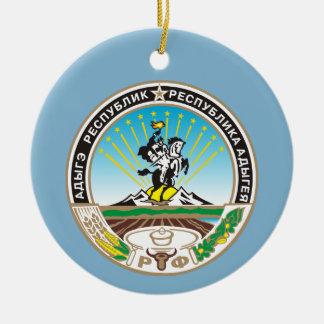 Wappen von Adygea Keramik Ornament