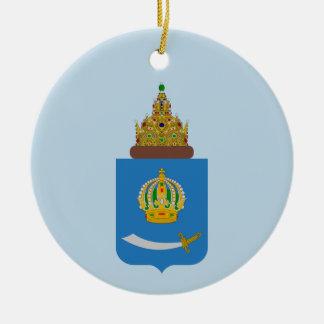 Wappen von Astrakhan oblast Keramik Ornament