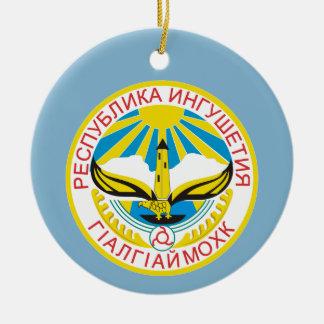 Wappen von Inguschetien Keramik Ornament