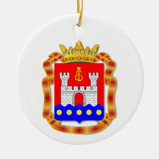 Wappen von Kaliningrad oblast Keramik Ornament