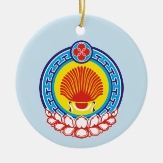 Wappen von Kalmückien Keramik Ornament
