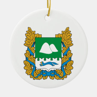 Wappen von Kurgan oblast Keramik Ornament