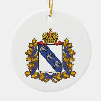 Wappen von Kursk oblast Keramik Ornament