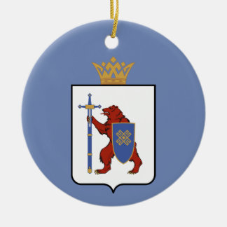 Wappen von Mari-EL Keramik Ornament
