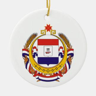 Wappen von Mordwinien Keramik Ornament